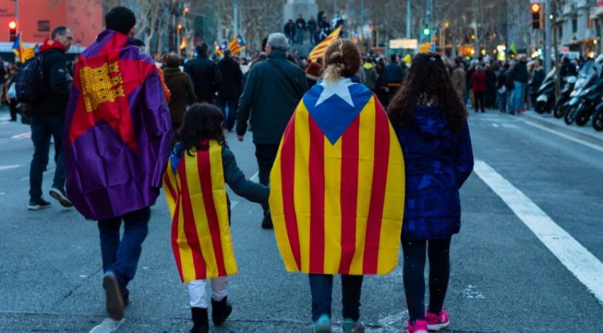 Catalonia Protests Flood the Streets of Barcelona in 2019